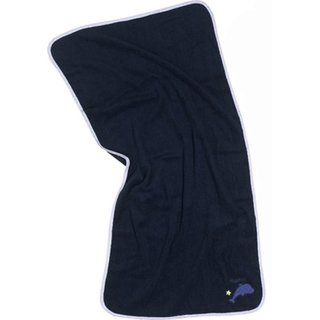 Playshoes 340109 - Frottee-Badetuch ca. 50 x 100 cm Navy