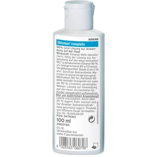Ecolab Skinman complete 100 ml